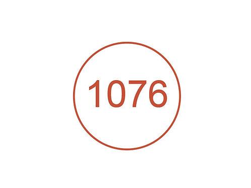Número 1076