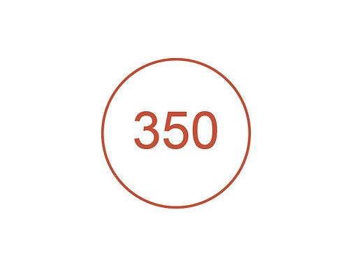 Número 350