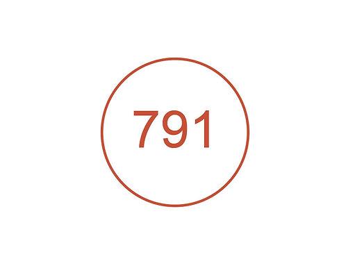 Número 791