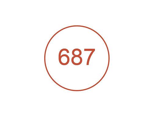 Número 687