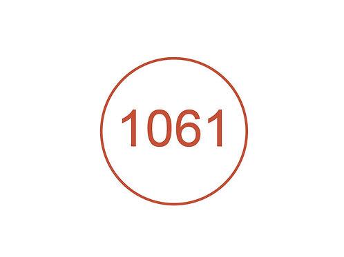 Número 1061