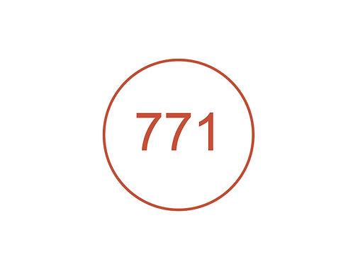 Número 771