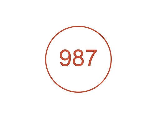 Número 987
