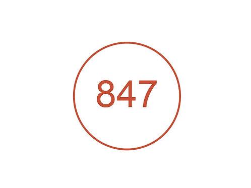 Número 847