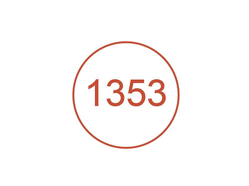 Número 1353