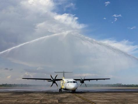 Ponta Grossa agora tem voos a Foz do Iguaçu