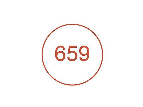Número 659