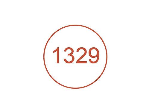 Número 1329
