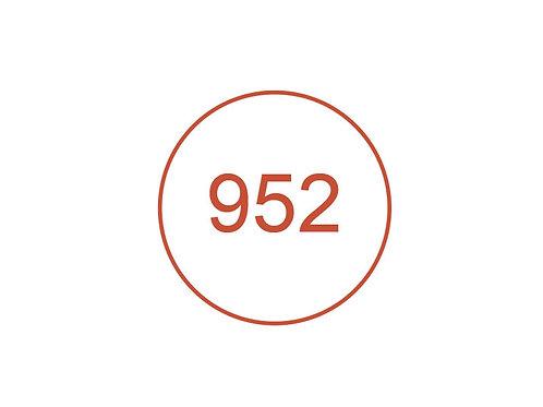 Número 952