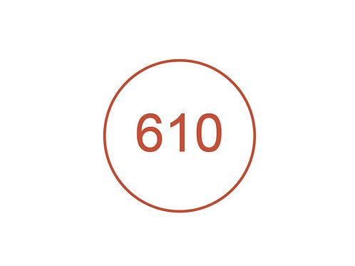 Número 610