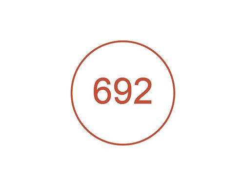 Número 692