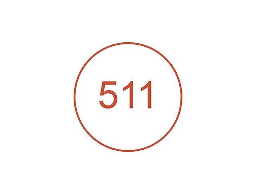 Número 511