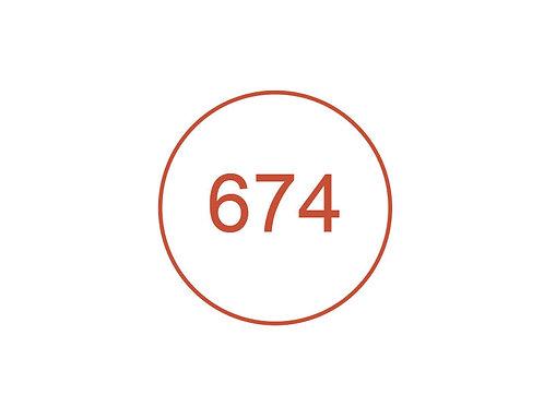 Número 674
