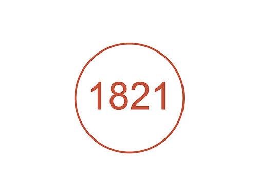 Número 1821