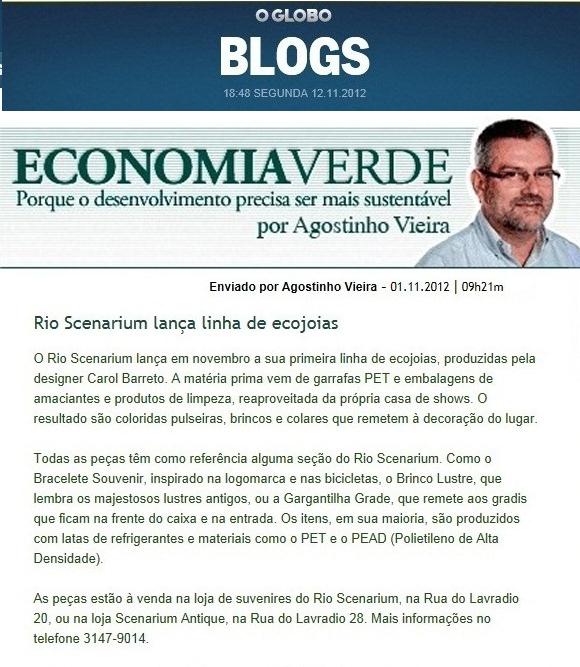 Agostinho Vieira - O Globo