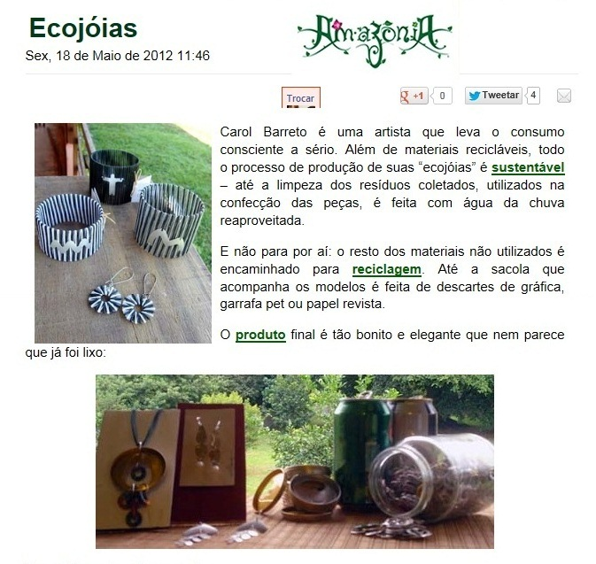 Site Revista Amazônia