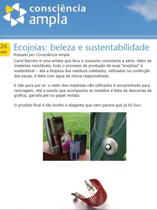 Site Consciencia Ampla