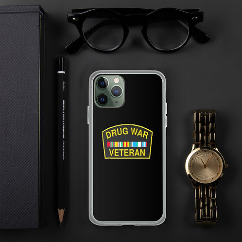 Drug War Veteran iPhone Case