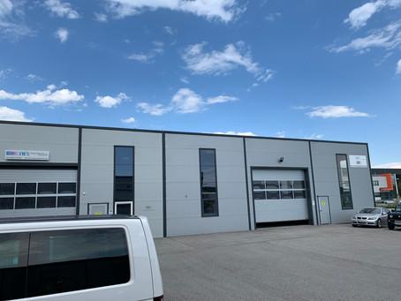 Unser neues Gebäude!