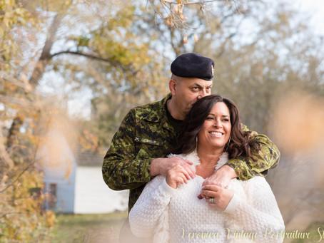 Jacqueline & Rick | Edmonton Military Styled Bridal