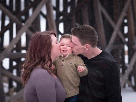 Stroud Family Portraits | St. Albert Family Photographer