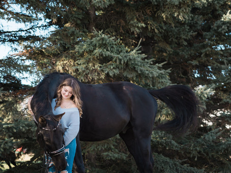 Paige and her Heart Horse | Beaumont Grad Photographer | Beaumont Alberta