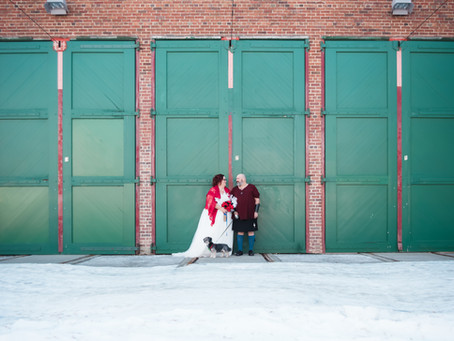 A Christmas Miracle! | Tara & Rob's Wedding | Beaumont Wedding Photographer