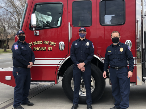 Los Banos Has A New Fire Engine