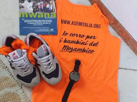 130 km da Trento a Tremignon per dare un pasto ai bambini del Mozambico.