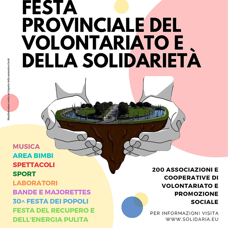 Festa provinciale del volontariato e della solidarietà