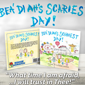 New Children's Book: Bea'diah's Scariest Day!
