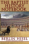 Baptist History Notebook Cover