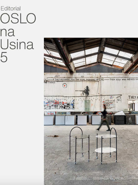 Editorial Oslo Design na Usina 5
