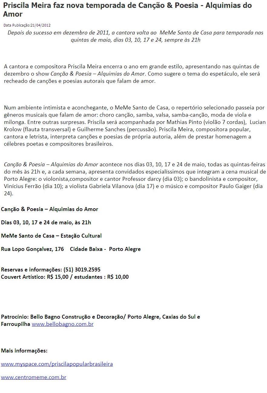 Folha do Rio-Brasil :: 21 abril 2012