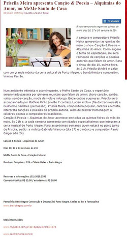 Acesso Total Revista :: 8 maio 2012