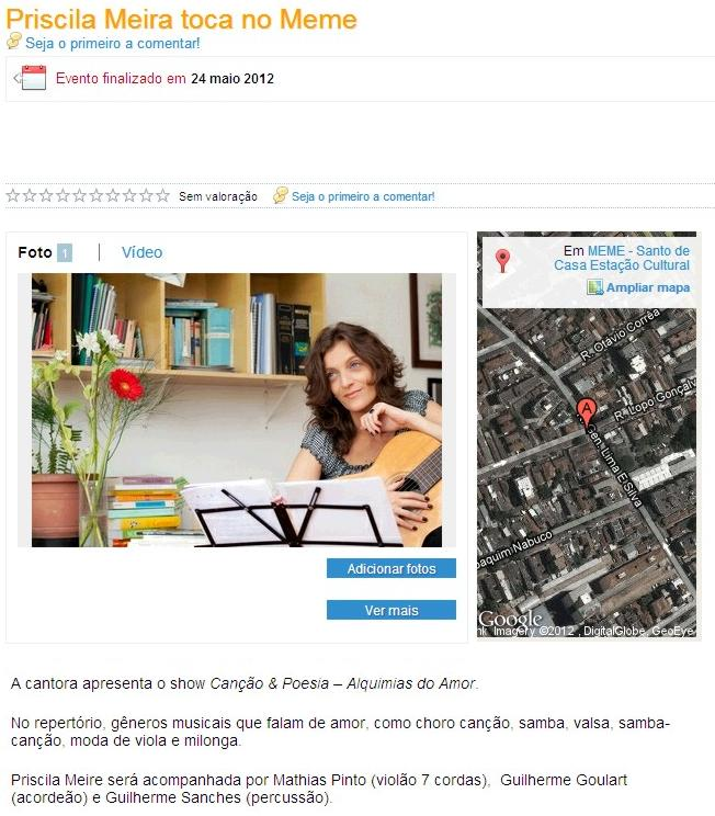 Guia de cidades :: 1 maio 2012