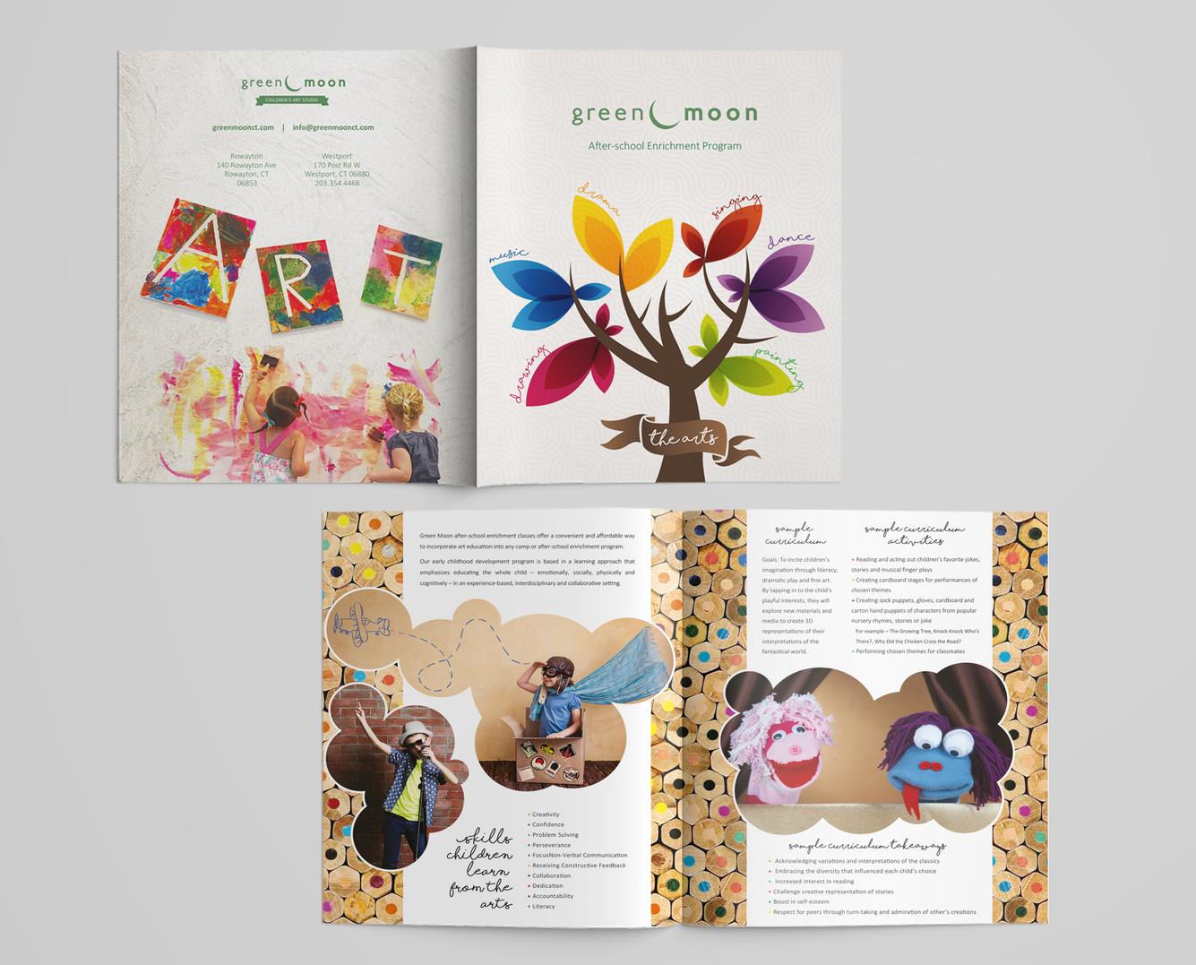 Green Moon Childrens Art Studio