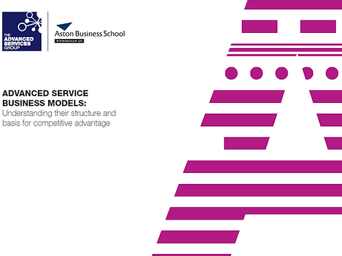 Advanced Service Business Models Whitepaper
