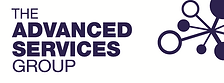 ASG logo landscape reversed blue device.