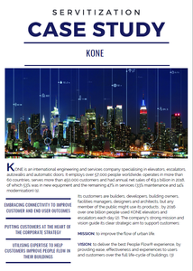 Servitization in Action: KONE