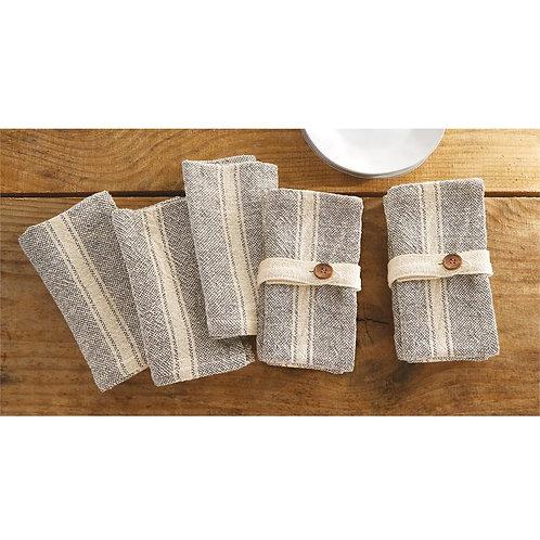 Farmhouse Cloth Napkins - Set of 4