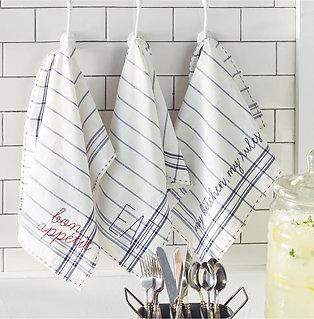 Bistro Sentiment Towels