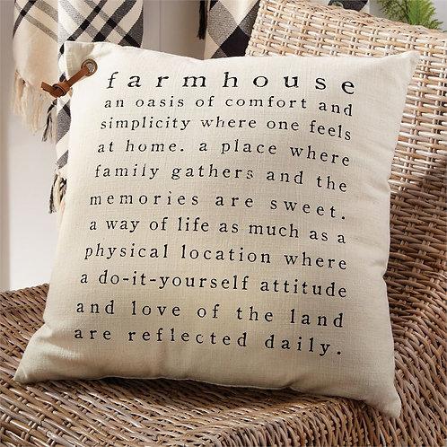 Farmhouse Definition Pillow