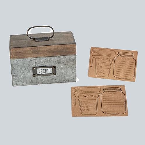 Bistro Recipe Box
