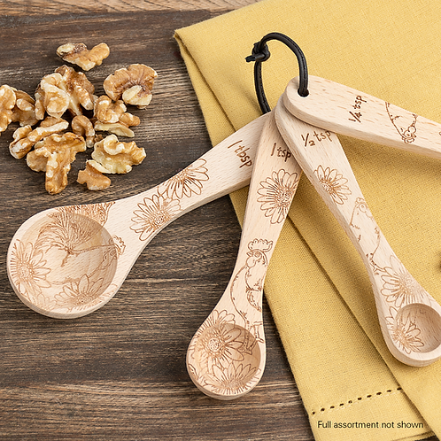 Wooden Measuring Spoon Set