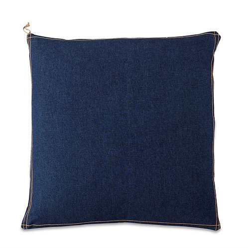 Oversized Denim Pillow