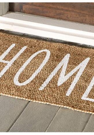 Home Jute Doormat
