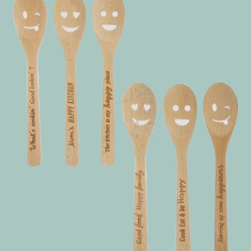 Happy Face Spoons