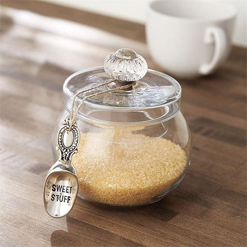 Door Knob Glass Sweets Jar