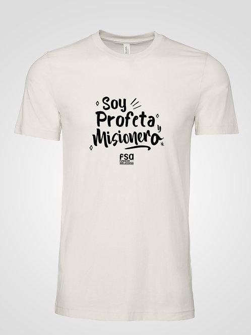 Camiseta FSA (Soy Profeta y Misionero)